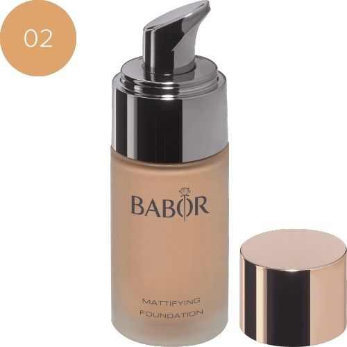 Face Make up Mattifying Foundation 02 natural