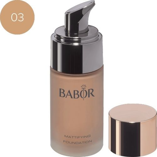 Face Make up Mattifying Foundation 03 almond
