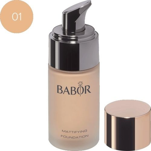 Face Make up Mattifying Foundation 01 ivory
