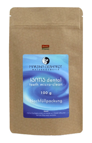 ISATIS dental teeth micro-clean, Nachfüllpackung
